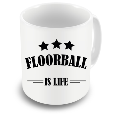 Hrnček_Floorball_Is_Life